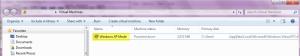 resize vhd for windows xp mode