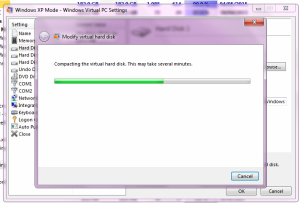 compacting windows xpo mode vhd disk