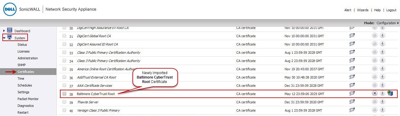 Dyndns On Sonicwall Dyn Reports Account Config Error Or